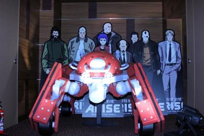 「攻殻機動隊ARISE」新宿バルト9に展示中!
