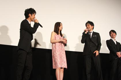 永井監督・妻夫木・北川
