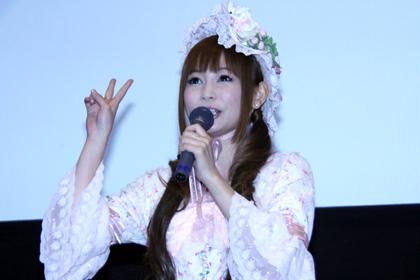 『ヌイグルマーZ』初日舞台挨拶_中川翔子