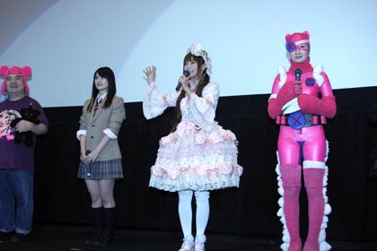 『ヌイグルマーZ』初日舞台挨拶3