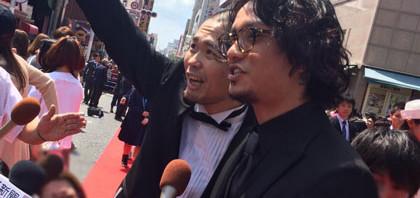 田中聖レッドカーペットで黄色い声援!沖縄国際映画祭