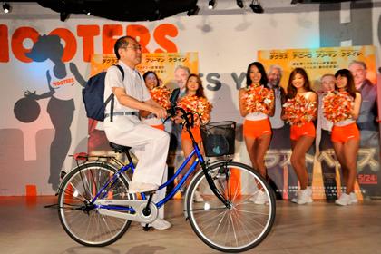 0522『ラスト・ベガス』自転車で登場