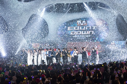 World No.1 K-POP Chart Show M COUNTDOWN 2014の模様