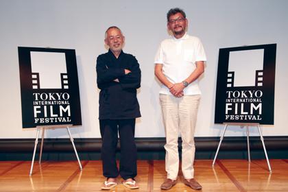 東京国際映画祭鈴木x庵野