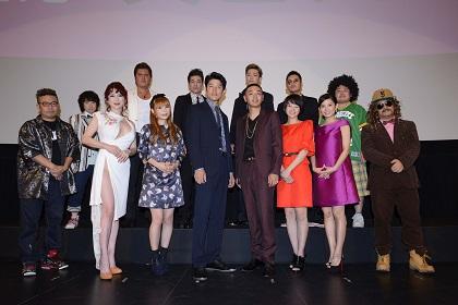 8月30日TOKYO TRIBE初日舞台挨拶