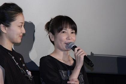 安里麻里監督『零』公開記念舞台挨拶
