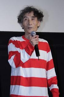 楳図かずお監督 マザー初日舞台挨拶2