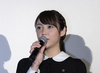 山谷花純『零』公開記念舞台挨拶