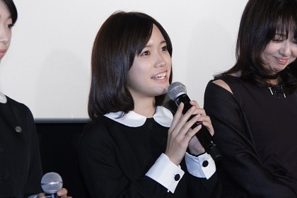 美山加恋『零』公開記念舞台挨拶