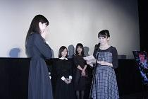中条あやみ涙の卒業式『零』公開記念舞台挨拶0