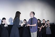 『劇場版-零~ゼロ~』舞台挨拶射影機贈呈