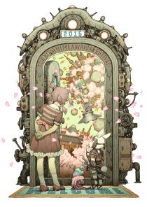 東京アニメアワードフェスティバル2015キーアート