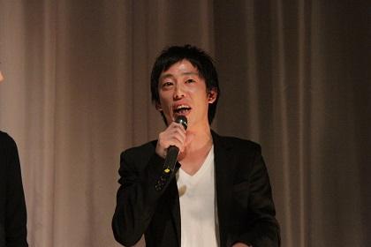 いつかの、玄関たち、初日舞台挨拶森田哲矢
