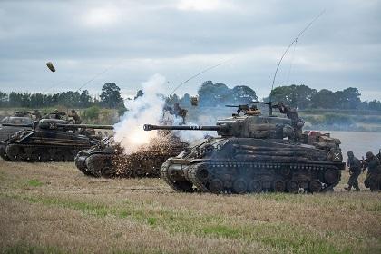 フューリー戦車戦