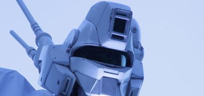 実物大パトレイバーが六本木ヒルズに立つ@東京国際映画祭