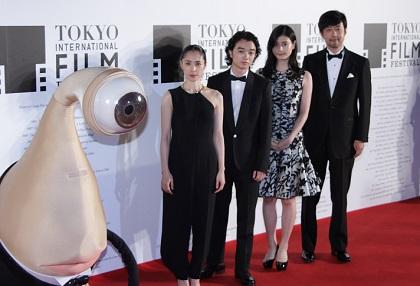 東京国際映画祭_寄生獣