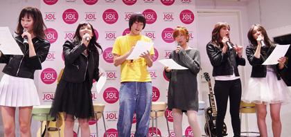 『日々ロック』喜多陽子がガールズバンド「B1」としてデビューイベント