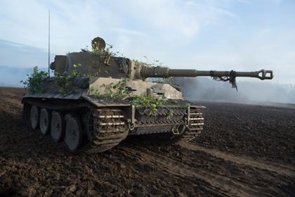 世界で1台の動くティーガ戦車