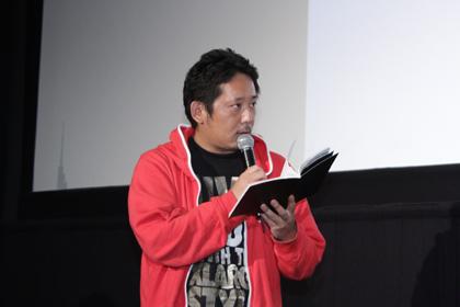 1123『日々ロック』舞台挨拶_入江監督手紙