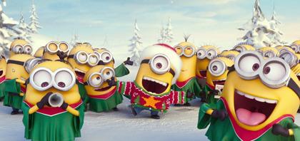 メッチャ可愛い!!ミニオンのクリスマスグリーティング映像到着!