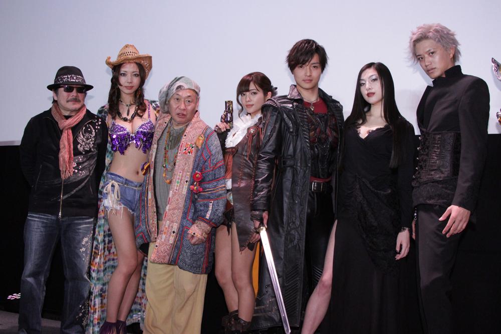 『牙狼<GARO>-GOLD STORM-翔』劇場版披露試写会&TV版制作発表会の模様