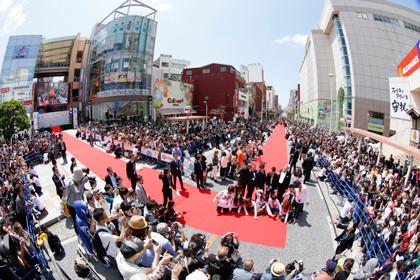 沖縄国際映画祭レッドカーペット1