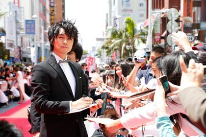 沖縄国際映画祭レッドカーペット5
