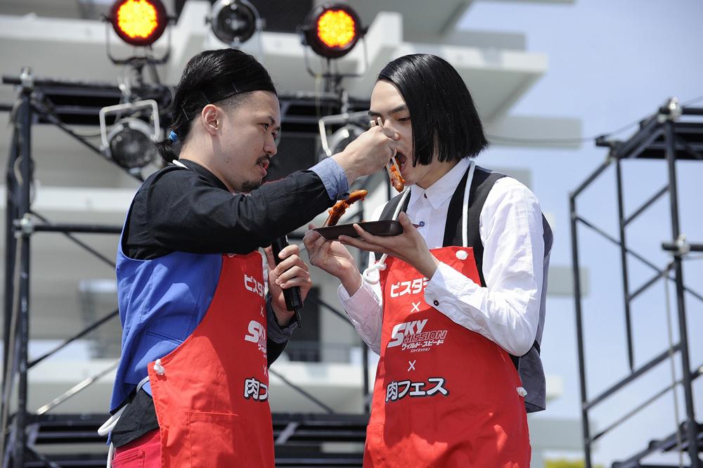 ワイルド・スピード 肉フェスで芸人ピスタチオ、ドミニクソーセージを!