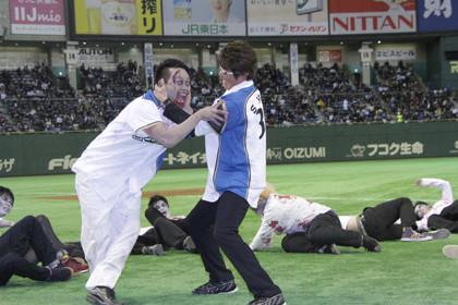 Zアイランド始球式乱闘5