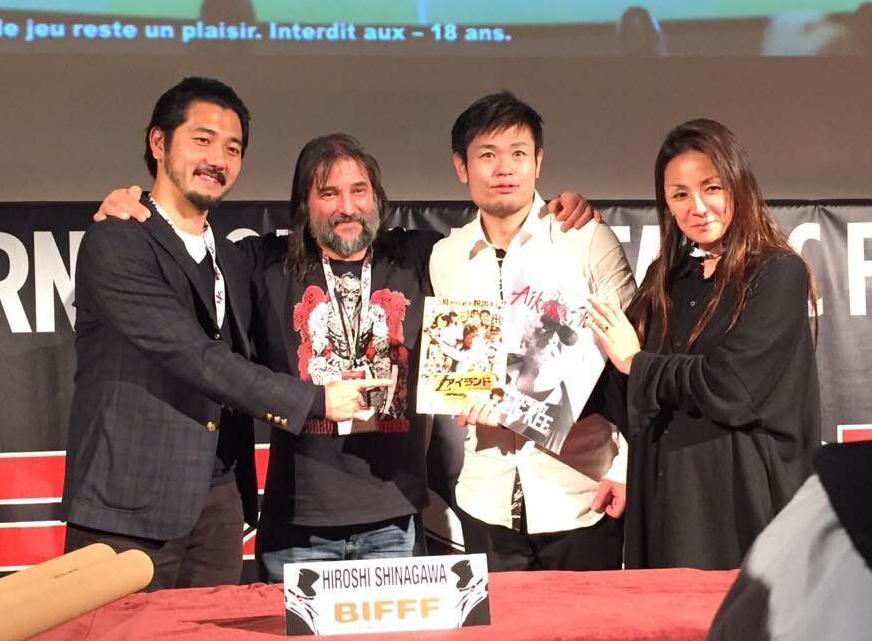 品川監督が登壇だゼ~ット!ブリュッセルF国際映画祭で『Zアイランド』