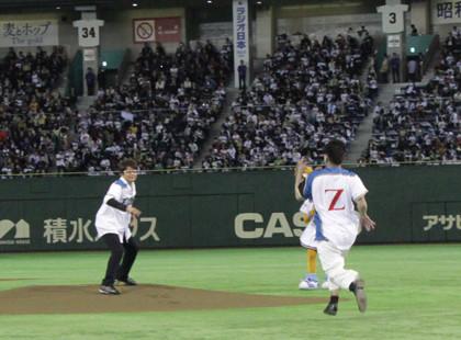 哀川翔だZ始球式4