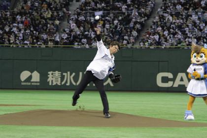 哀川翔だZ始球式2