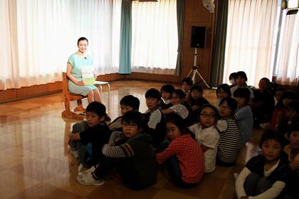 おかあさんの木読み聞かせ鈴木京香in長野2