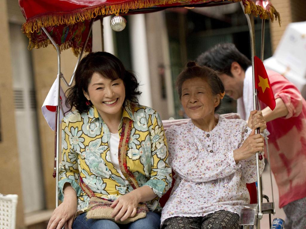 松坂慶子主演『ベトナムの風に吹かれて』10月公開決定!