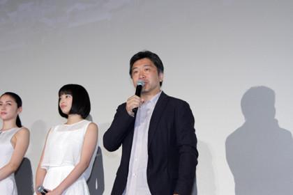 海街diary初日_是枝監督
