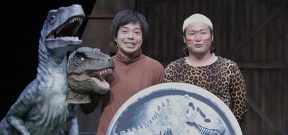 バンビーノが恐竜3匹に待て!そして捕獲『ジュラシック・ワールド』