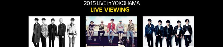K-POP FESTIVAL 2015 ライブ・ビューイング決定!