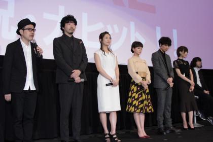 ピースオブケイク初日舞台挨拶_田口トモロヲ監督