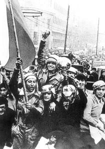 『チリの闘い』crowds