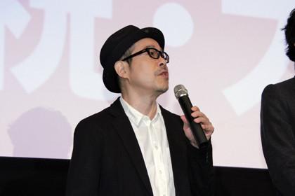 ピースオブケイク初日舞台挨拶_田口トモロヲ監督2