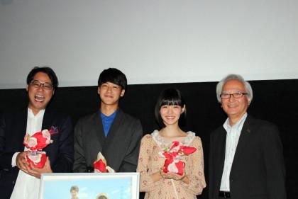 映画『夏ノ日、君ノ声』静岡県先行上映&舞台挨拶