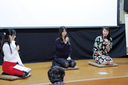 糸舞台挨拶ちちぶ映画祭
