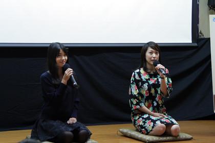 糸舞台挨拶3ちちぶ映画祭