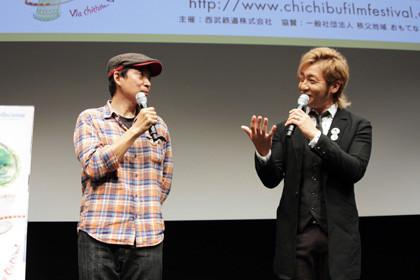 つるの剛士&杉作先生_ちちぶ映画祭s