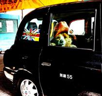 『パディントン』と東京のロンドンタクシーがコラボ!!