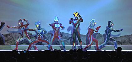 ウルトラヒーローが大活躍!のライブステージがDVD化!