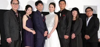 佐々木希、縁結びの力がある映画『縁 The Bride of Izumo』初日舞台挨拶