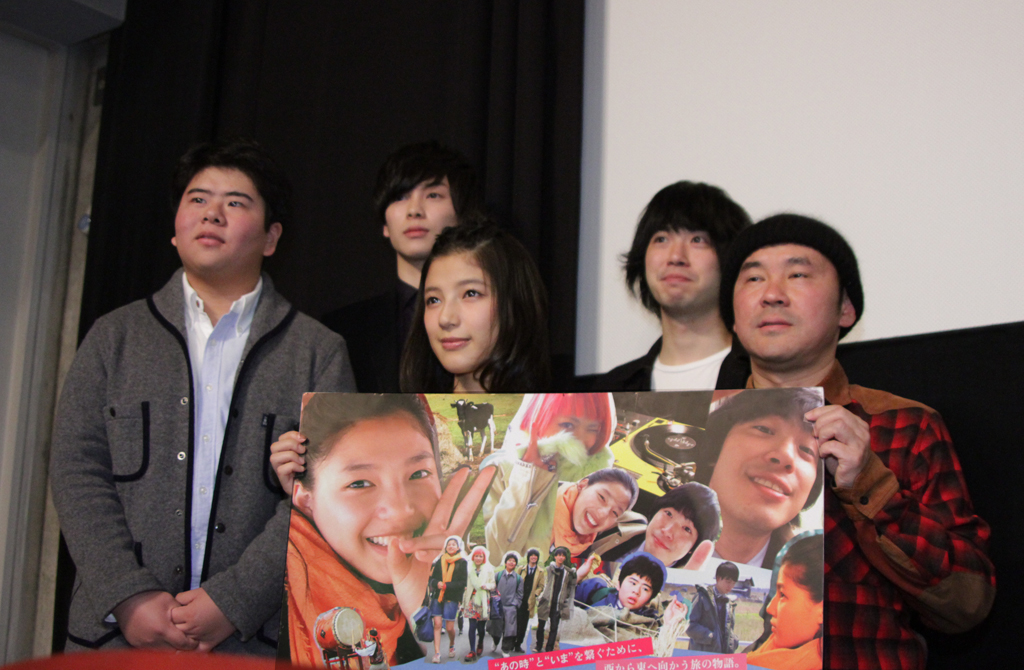 石井杏奈、渡辺大知 登壇『LIVE!LOVE!SING! 劇場版』初日舞台挨拶