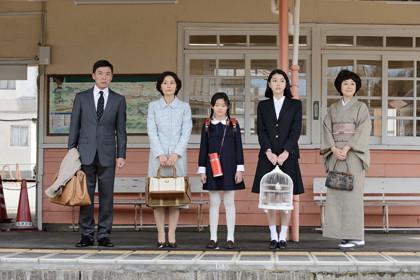 4「無伴奏」光石研、斉藤とも子、海音、成海璃子、藤田朋子