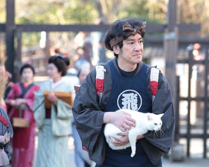 「猫侍-玉之丞、江戸へ行く」1